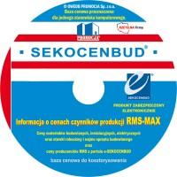 Zestaw informacji o cenach czynników produkcji - SEKOCENBUD RMS-MAX